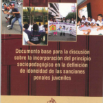 Documento base para la discusión del principio socio pedagógico en la definición de idoneidad